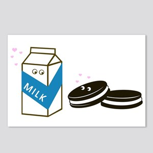 Oreos and Milk Postcards (Package of 8)
