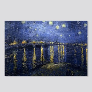 Van Gogh Starry Night Ove Postcards (Package of 8)