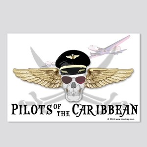 Pilots of the Caribbean Postcards (Package of 8)