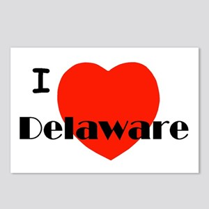 I love Delaware! Postcards (Package of 8)