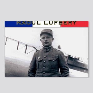 Raoul Lufbery-fr Postcards (Package of 8)