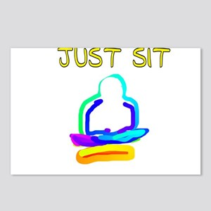 JUST SIT Postcards (Package of 8)