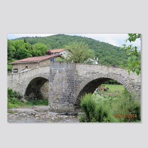 Bridge At Zubiri Postcards (package Of 8)