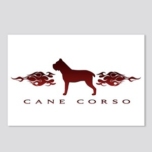 Cane Corso Flames Postcards (Package of 8)