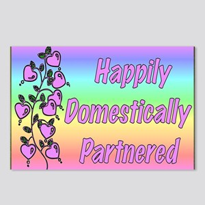 Happily Domestically Partnered Postcards (Package