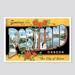 Portland Oregon OR Postcards (Package of 8)