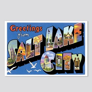 Salt Lake City Utah UT Postcards (Package of 8)