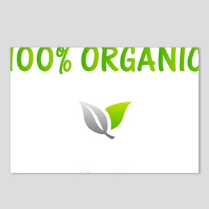 100-p-Organic Postcards (Package of 8)