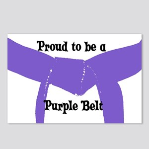Proud to be a Purple Belt Postcards (Package of 8)