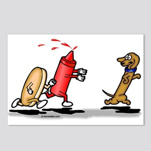 Run Wiener Dog! Postcards (Package of 8)