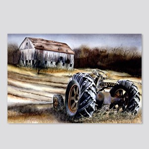 Old Tractor Postcards (Package of 8)