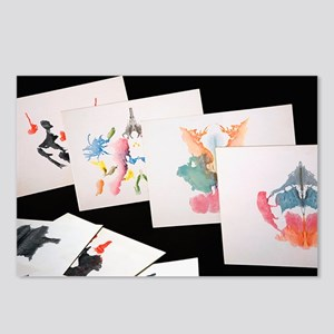 Rorshach Inkblot Test - Postcards (Pk of 8)