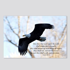 Isaiah 40:31 Eagle Soarin Postcards (Package of 8)