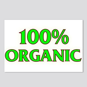 100%organic Postcards (Package of 8)