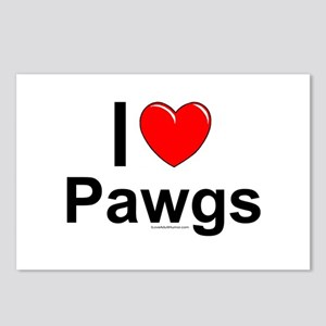 Pawgs Postcards (Package of 8)