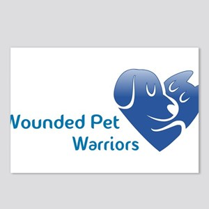 Wounded Pet Warrios Postcards (Package of 8)