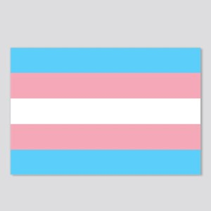 Transgender Pride Flag Postcards (Package of 8)