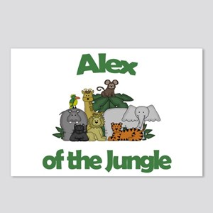 Alex of the Jungle  Postcards (Package of 8)