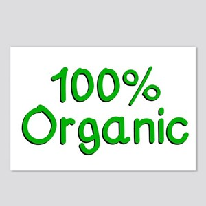 100 % Organic Postcards (Package of 8)
