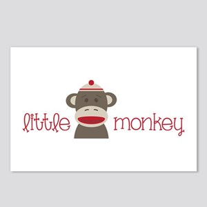 Little Monkey Postcards (Package of 8)