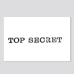 Top Secret Typewriter Typ Postcards (Package of 8)
