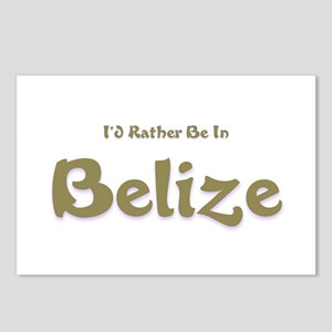 Id Rather Be...Belize Postcards (Package of 8)