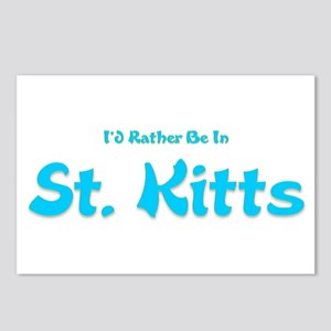 Id Rather Be...St. Kitts Postcards (Package of