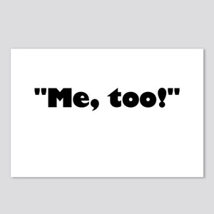 Me, too! Postcards (Package of 8)