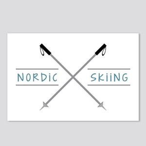 Nordic Skiing Postcards (Package of 8)