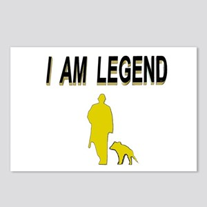 i am legend Postcards (Package of 8)