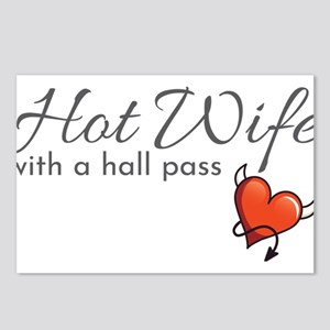 Hotwife Gift for a Swinge Postcards (Package of 8)