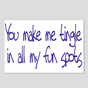 Make me Tingle Postcards (Package of 8)