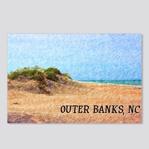 Outer Banks NC Beach Dune Postcards (Package of 8)