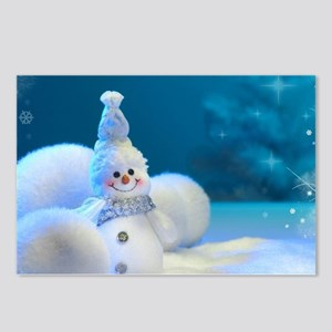 Christmas Snowman Postcards (Package of 8)
