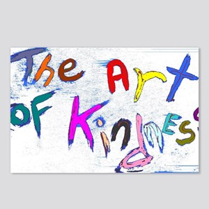 the art of kindness Postcards (Package of 8)