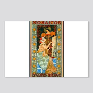 ART NOUVEAU Postcards (Package of 8)