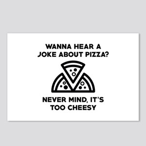 Cheese Puns Postcards - CafePress