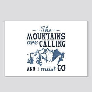 The Mountains Are Calling Postcards (Package of 8)
