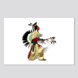 Native American Warrior #5 Postcards (Package of 8