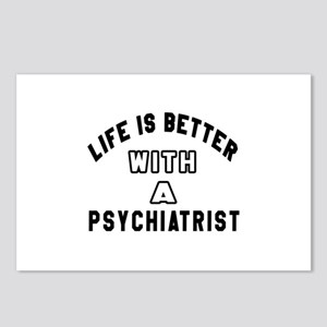 I Love Psychiatrists Postcards - CafePress
