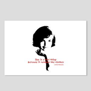 Jackie Kennedy Postcards - CafePress