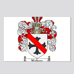 Nelson Family Crest Postcards (Package of 8)