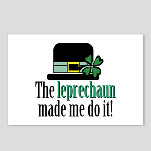 Leprechaun made me Postcards (Package of 8)