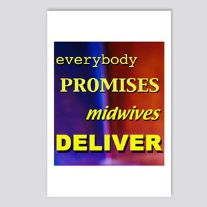 midwives deliver Postcards (Pack of 8)
