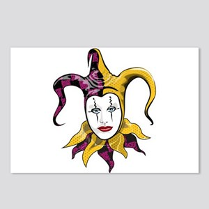 Joker Jester Comic Comedian Postcards (Package of