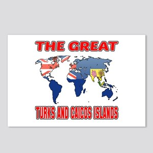 The Great Turks and Caico Postcards (Package of 8)