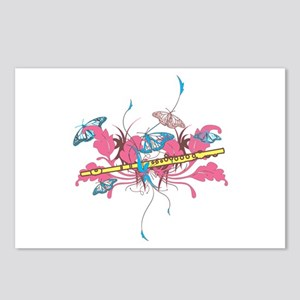 Butterfly Flute Postcards (Package of 8)