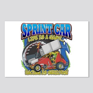 Sprint Car Life Postcards (Package of 8)