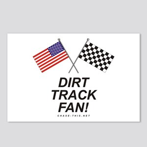 Dirt Track Fan Postcards (Package of 8)