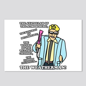 The Weatherman Postcards (Package of 8)